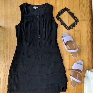 Flapper girl little black dress